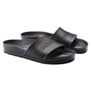 Birkenstock Eva black sandals 39 regular NWT